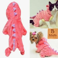 Pet Plush Outfit Dinosaur Costum      Great deal>>>>>>>>>>    http://amzn.to/1ZJZTFO