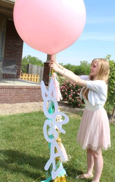 DIY: High School Graduation Party Decor | Tiny Prints Blog