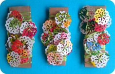 Flower garland via Etsy