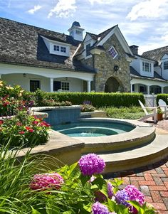 Sunken Hot Tub Design, Pictures, Remodel, Decor and Ideas - page 21