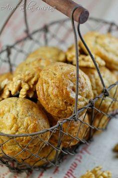 Gougères au Roquefort & aux noix - Aud' à la cuisine
