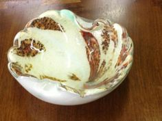 Vintage Murano Dish   $55  Mid Century Finds   @Blanca Prado Elephant Antiques 1026 N. Riverfront Blvd. Dallas, TX 75207