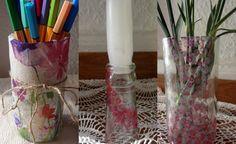 Decorating glass / Gläser gestalten