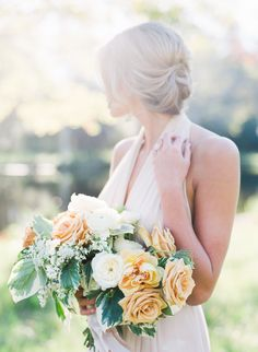 Photography : J. Layne Photography Read More on SMP: http://www.stylemepretty.com/florida-weddings/2016/07/21/grey-pastel-ethereal-wedding-inspiration-styled-photo-shoot/
