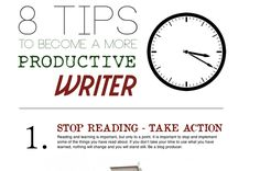These are the tips that you can use to find more time to blog and to become a better writer.