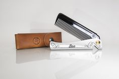 Tools and equipment for the modern man. A collection of unique folding combs by DAFT® Modern Man, Barbershop, Nail Clippers, Hair Comb, Cosplay Costumes, Knives, Camping, Christmas, Gifts