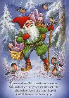 Lars Carlsson Swedish Christmas, Christmas Mood, Scandinavian Christmas, Vintage Christmas Images, Christmas Pictures, Baumgarten, Christmas Illustration, Vintage Greeting Cards, Christmas Inspiration