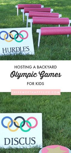 Olympic Games | DIY Olympics | Backyard Olympics | Kids Olympics | Outdoor Games for Kids | Olympics 2018