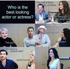 I'd say it's between Lana, Jamie, and Robert, and Colin, and Josh, and Bex. Basically everyone.
