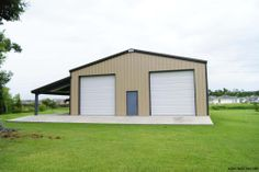 30 X 40 X 16 Garage At Menards Pole Barns Pinterest