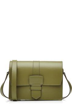 SALVATORE FERRAGAMO Leather Shoulder Bag. #salvatoreferragamo #bags #shoulder…