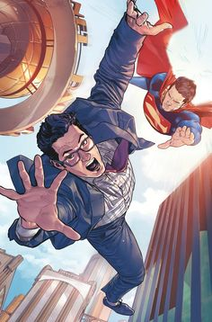 ACTION COMICS #963 Written by DAN JURGENS Art by PATRICK ZIRCHER Cover by CLAY MANN and SETH MANN