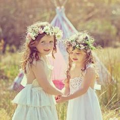 Flower girls photo via Chanele Rose Flowers & Styling. Special thanks to Tindale Images, Pretty and Print, Blissfully Sweet, Minx Makeup & Spray Tanning, Shire Mobile Hair Styling, @Jane Belle princess  for making this happen.
