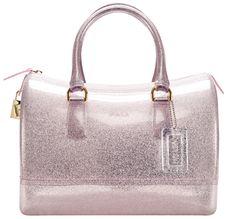 Furla Glitter Candy Bag In Rose Pink