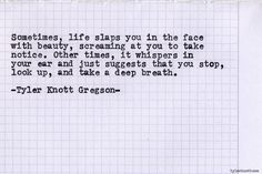 Typewriter Series #563by Tyler Knott Gregson