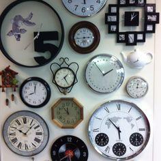 Mur d horloges