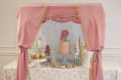 Sweet Table from a Nutcracker Ballet themed Birthday Holiday Party via Kara's Party Ideas | KarasPartyIdeas.com (39)