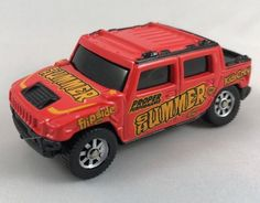 Maisto 1/64 Scale 2001 Hummer H2 Concept Tonka Hasbro Vintage Diecast #Maisto #Hummer