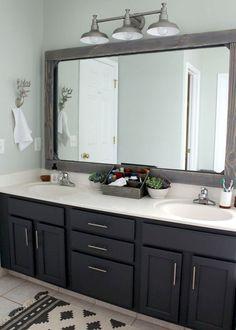 48 top bathroom cabinet ideas & organization tips (28)