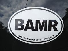 Mother Runner removable sticker