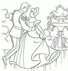 Cinderella 14 Ausmalbilder