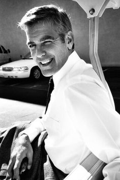George Clooney is like a fine wine. He only gets better with age.