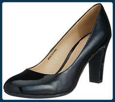 Geox D NEW MARIELE HIGH A, Damen , Schwarz (BLACKC9999), 35 EU (2.5 Damen UK) - Damen pumps (*Partner-Link)