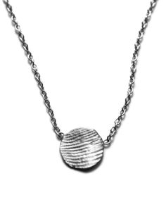 The Tiny Print Necklace Kit captures your loved ones fingerprint and individually crafts a necklace based on their unique print. #mothers_day