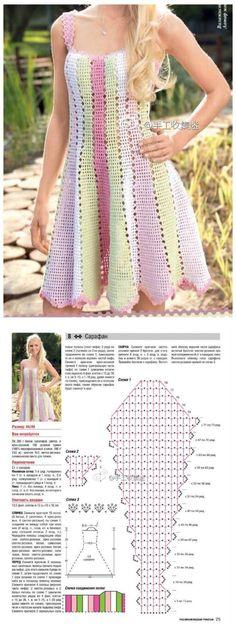 Captivating Crochet a Bodycon Dress Top Ideas. Dazzling Crochet a Bodycon Dress Top Ideas. Crochet Bodycon Dresses, Crochet Skirts, Crochet Blouse, Crochet Clothes, Thread Crochet, Diy Crochet, Crochet Stitches, Crochet Top, Crochet Dresses