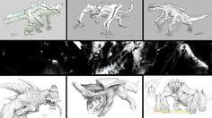 pacific rim kaiju concept art animation Concept art de Pacific Rim