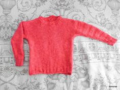 Knitting kit for LUCIA RUVIDA a cotton kid's jumper in by domoras