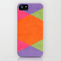 autumn triangles iPhone & iPod Case by her art