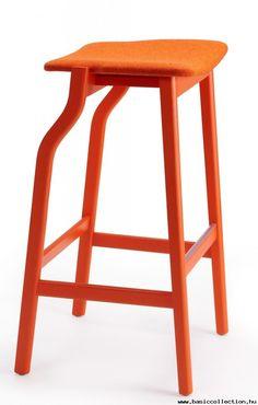 Basic Collection, Kalea barstool #barstool #orage #woodenstool #contractfurniture