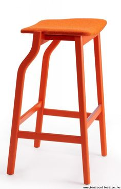Basic Collection, Kalea barstool #barstool #orage #woodenstool #contractfurniture