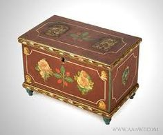 Image result for hand painted dolls house furniture