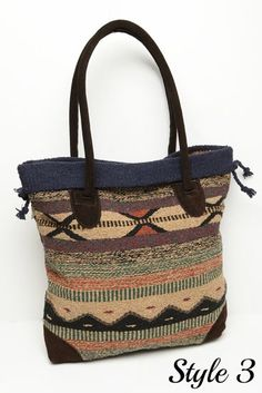 Southwest Style Tote Bag gets you ready for fall!                                                                                                                                                     More