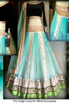 Bollywood Style Model Net and Velvet Lehenga In Sky Blue Colour Patiala Salwar, Anarkali, Lehenga Choli, Net Lehenga, Sarees, Blue Lehenga, Sabyasachi, Indian Attire, Indian Ethnic Wear