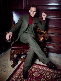 Tom Hiddleston by Dylan Don for GQ UK November 2013 [HQ]