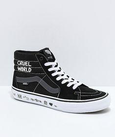 705c22f209e6 Vans x Cult Sk8-Hi Pro Black