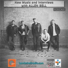 Today 5pm-6pm EST 10pm-11pm BST 2pm-3pm PDT bombshellradio.com Bombshell Radio  Repeats 5am EST #Rock #Radio #alternative #Classics #NewMusic #AllenBell #Interviews Today's Bombshell (Bombshell Radio) #interview w/ The Treble