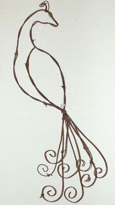Barbed Wire Pretty As A Peacock Rustic Spring Country Wall Art Decor