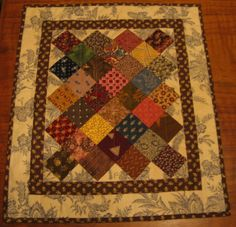 What a Load a Scrap: Doll Quilts.