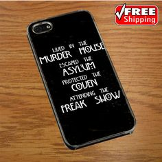 AMERICAN HORROR STORY FOUR SEASONS IPHONE 4 | 4S COVER CASE