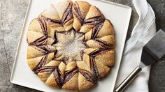 Bake up this gorgeous crescent snowflake for breakfast on Christmas morning. It's almost too pretty to eat. Almost.