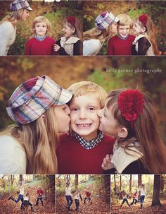 Fall Family Session   Kelly Gorney Photography - love the middle pic! Must do for my kids someday. Calvin's sisters love him. =)