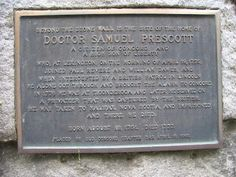 """Samuel Prescott (1751-1777) was a physician and Massachusetts Patriot during the American Revolutionary War. He is best remembered for his role in the """"midnight ride"""" to warn the townspeople of Concord of the impending British army move to capture guns and gunpowder kept there at the beginning of the American Revolution. He was the only participant in the ride to reach Concord. There is evidence that Prescott went on to serve as a surgeon in the Continental Army. He later joined the crew of a Ne Midnight Rider, Continental Army, American Revolutionary War, British Army, Early American, Revolutionaries, Ancestry, Massachusetts, Doctors"""