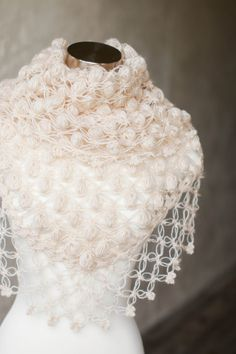 Bridal Shrug // Bridal Bolero // Shawl // Winter by MODAcrochet