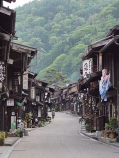 Narai-juku is located in Shiojiri city along Nakasen-do (ancient central mountain rout), Nagano prefecture, Japan. 奈良井宿 中山道