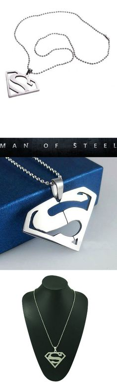 Superman Stainless Steel Necklace! Click The Image To Buy It Now or Tag Someone You Want To Buy This For.  #Superman