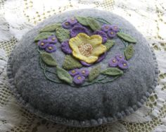 Popular items for wool pincushion on Etsy